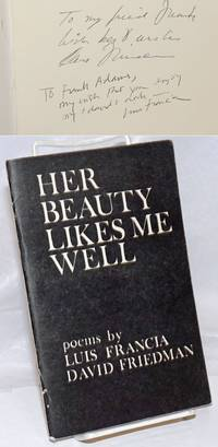 image of Her beauty likes me well: poems