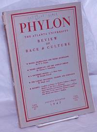image of Phylon: the Atlanta University  review of race and culture vol. 8, #4; fourth quarter 1947