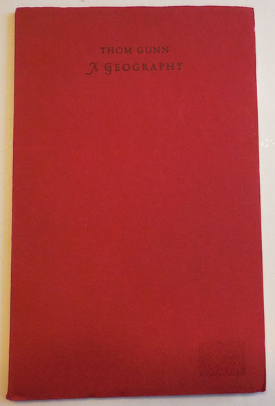 Iowa City: Stone Wall Press, 1966. First edition. Paperback. Very Good. Small paperbound 12mo. 31 pp...