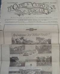 image of Illustrated Cape to Cairo Argus - The First Newspaper ever produced on a Trans-continental Motor Run: No 2, Nairobi, East Africa, Monday, June 18, 1928