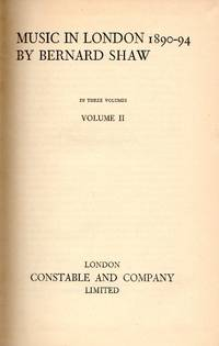 Music in London 1890-94 - Volume II (of 3)