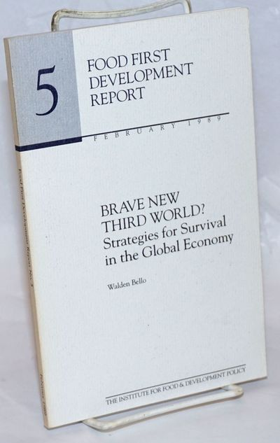 San Francisco: Institute for Food & Development Policy, 1989. Paperback. 93p., wraps, very good cond...