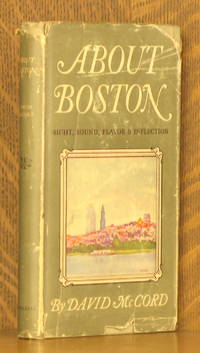 ABOUT BOSTON - SIGHT, SOUND, FLAVOR & INFLECTION