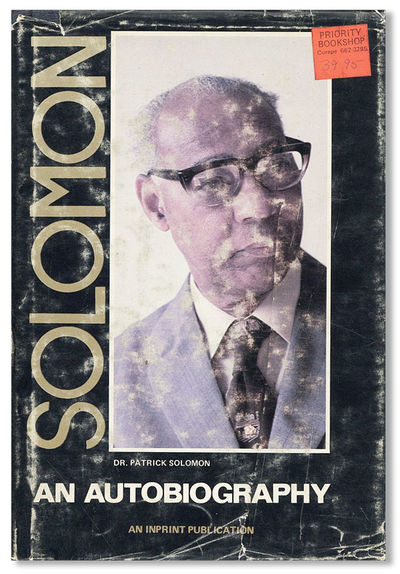 Trinidad: Inprint Caribbean Ltd, . First Edition. Hardcover. Octavo (20cm.); publisher's boards in b...