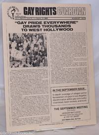 image of Gay Rights Guardian: vol. 4, #8, August 1979; Gay Pride Everywhere draws thousands to West Hollywood