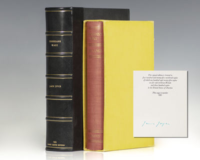 London: Faber & Faber, 1939. First signed limited edition, number 251 of only 425 large-paper copies...