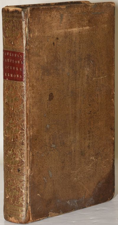 Oxford: The Clarendon Press, 1787. Full Leather. Good binding. A clean copy of Hawkins and Bampton's...
