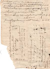 Single leaf folded, work log and labor tally, agricultural, field and pasture work, 1796-7