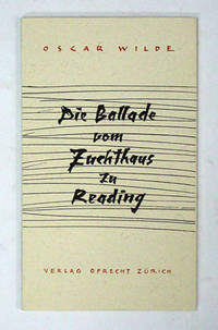 image of Die Ballade vom Zuchthaus zu Reading.