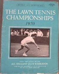 image of The Lawn Tennis Championship Meeting 1970, upon the lawns of the All England Club Wimbledon - Monday 29th June Seventh Day - programme