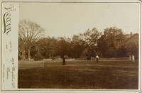 image of Photograph of 4 women playing lawn tennis