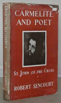 Carmelite and Poet: A Framed Portrait of st. John of the Cross with His Poems in Spanish