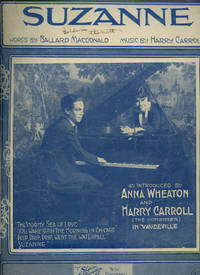 Suzanne [Vintage Piano Sheet Music]