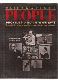 Mathematical People Profiles and Interviews