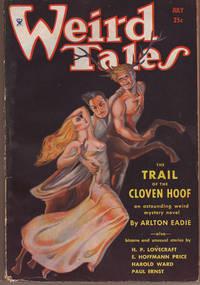Weird Tales / July, 1934 / Margaret Brundage Cover / H.P. Lovecraft, Clark Ashton Smith, August Derleth