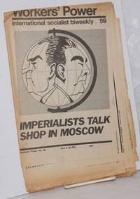 image of Workers' Power, No. 59, Jun 9-30, 1972 International Socialist biweekly