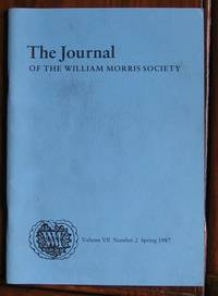 The Journal of the William Morris Society Volume VII Number 2 Spring 1987