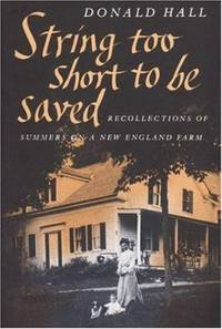String Too Short to Be Saved Nonpareil Books  No. 5