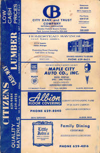 Johnson's 1974 Special Residential Edition of the Albion, Michigan City Directory