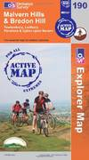 image of Malvern Hills and Bredon Hill (OS Explorer Map Active)