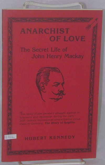 New York: Mackay Society, 1983. 24p., 5.5x8.5 inches, good first edition booklet in stapled red pict...