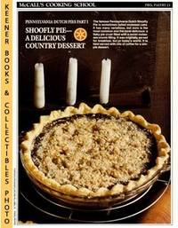 image of McCall's Cooking School Recipe Card: Pies, Pastry 23 - Shoofly Pie :  Replacement McCall's Recipage or Recipe Card For 3-Ring Binders : McCall's  Cooking School Cookbook Series