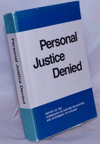 image of Personal justice denied; report