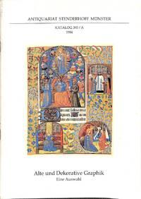Catalogue 393A/1984: Alte und Dekorative Graphik. Eine Auswahl.