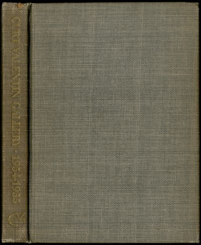 New York: Curt Valentin Gallery, 1954. Hardcover. Near Fine. First edition. Spine ends rubbed, near ...