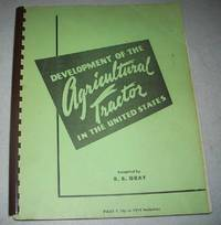 image of Development of the Agricultural Tractor in the United States Part I (Up to 1919 Inclusive)
