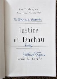 image of Justice at Dachau: The Trials of an American Prosecutor