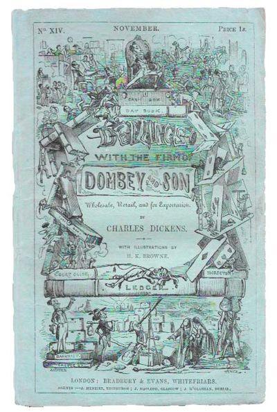 London: Bradbury & Evans, 1847. 1st appearance. Cf. Hatton & Cleaver, pp 243 - 244. Original blue-gr...