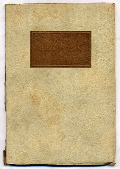 Brooklyn, New York: Brooklyn Savings Bank, 1927. Softcover. Good. First edition. Good with wear alon...