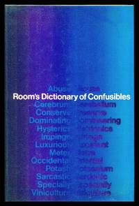 image of ROOM'S DICTIONARY OF CONFUSIBLES