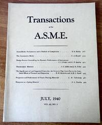 Transactions of the A S M E  July 1940, Vol  62, No  5