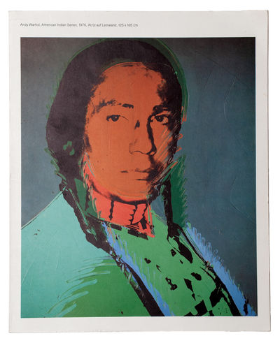 Andy Warhol: Indians, Porträts,...