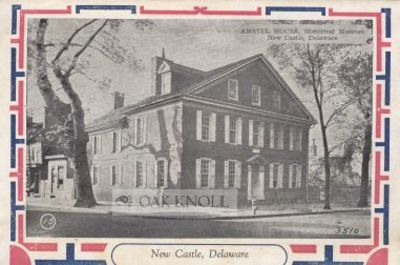 New Castle: New Castle Historical Society, n.d.. outer wrapper with text enclosing fourteen postcard...