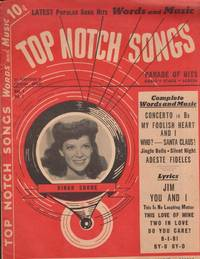 1941 Top Notch Songs Words and Music. Vol. 1, No. 1