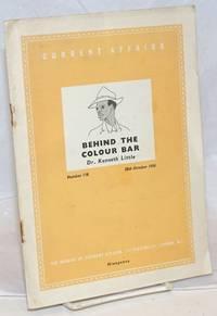 Behind the Colour Bar