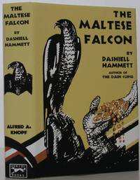The Maltese Falcon by  Dashiell Hammett - 1st Edition - 1930 - from Bookbid Rare Books (SKU: 107101)