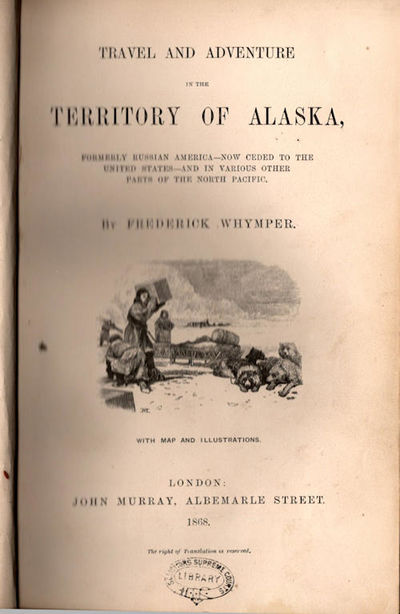 London: John Murray, 1868. First Edition. Very Good. ; xix, , 331 pp., frontispiece of Auroral light...
