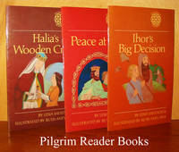Halia's Wooden Cross; A Story about St. Olha. Peace at Last; A Story  about St. Volodymyr. Ihor's Big Decision; A Story about St. Antony  and St. Theodosy. (3 books)