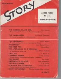 """Aftermath of a Lengthy Rejection Slip,"" in Story, The Quarterly of the  Short Story Vol XXIV, No 106 (March-April 1944)"