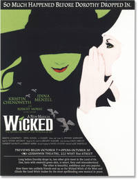 image of Wicked (Archive of three vintage scripts from the 2003 musical)