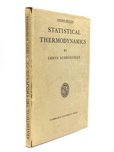 Cambridge: Cambridge University Press, 1952. Second Edition. Hardcover. Very good/Very good. In this...