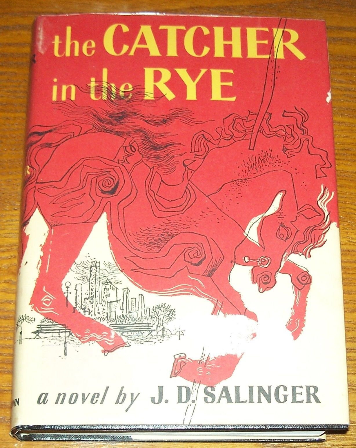 jd salingers catcher in the rye essay 2013-9-15  as the catcher in the rye remains widely read at various levels of popular and  los angeles review of books, 6671 sunset blvd, ste 1521, los angeles.