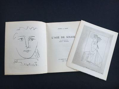 L'Age de Soleil.Godet, Robert-J. Paris: Aux dépens de l'auteur, 1950. One of 100 copies on Vélin d...