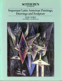 """SOTHEBY'S : IMPORTANT LATIN AMERICAN PAINTINGS, DRAWINGS AND SCULPTURE: Auction Catalog 5246 """"WIFREDO"""" : Nov 27, 28 & 29th, 1984"""