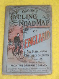 Bacon's Cycling Road Map of England, Sheet 2, North