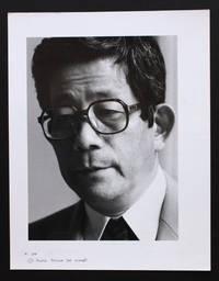 Portrait photographique de Kenzaburô Ôe par Bruno de Monès (tirage vintage signé)